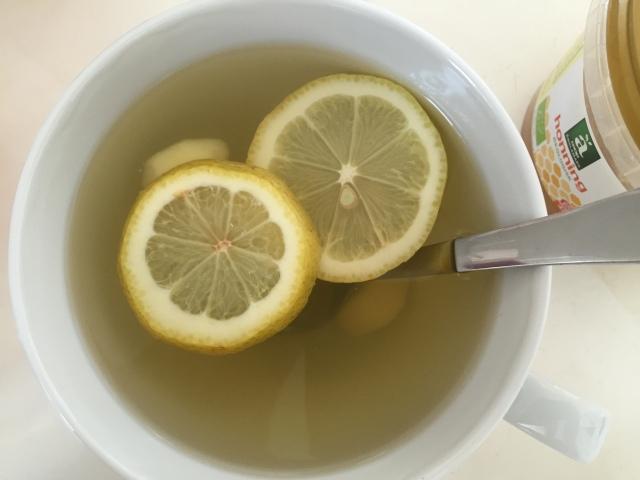 Ingefær/citron te